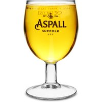 Aspall Cider Stemmed Half Pint Glasses CE 10oz / 285ml (Set of 4) - Cider Gifts