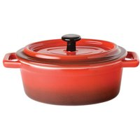 Click to view product details and reviews for Utopia Gourmande Flame Round Casserole Dish 5inch 125oz 35cl Pack Of 6.