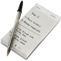 Restaurant Order Pad with Duplicate Sheet (Case of 1000) - Cooking Gifts