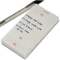 Single Part Restaurant Order Pad (Case of 100) - Cooking Gifts