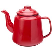 Eagle Enamel Red Teapot 32oz / 1ltr (Set of 2) - Teapot Gifts