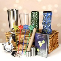 Click to view product details and reviews for Deluxe Tiki Cocktail Gift Hamper.