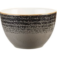Studio Prints Homespun Sugar Bowl Charcoal Black 8oz / 227ml (Case of 12)