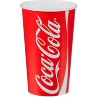 Coca Cola Paper Cups 16oz / 450ml (Sleeve of 50) - Coca Cola Gifts