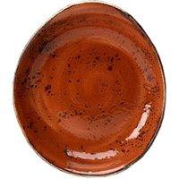 "Steelite Craft Freestyle Bowl Terracotta 11"" / 28cm (Set of 12)"