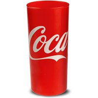 Classic Red Coca Cola Highball Glasses 9oz / 270ml (Pack of 4) - Coca Cola Gifts