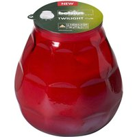 Twilight Glass Candle Red (Case of 12) - Candle Gifts