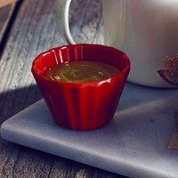 Genware Cupcake Melamine Ramekin Red 3oz / 90ml (Case of 12) - Cupcake Gifts