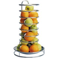 Chrome Plated Fruit Buffet Stand (Single) - Fruit Gifts