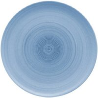Modern Rustic Coupe Plate Blue 20cm (Set of 12)
