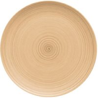 Modern Rustic Coupe Plate Sand 26cm (Set of 6)