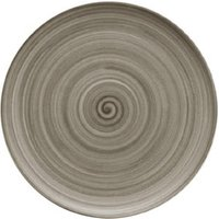 Modern Rustic Coupe Plate Wood 20cm (Set of 12) - Wood Gifts