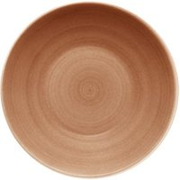 Modern Rustic Deep Coupe Plate Sand 30cm (Set of 6) - Sand Gifts