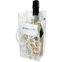 Ice Bag With Business Card Holder (Case of 60) - Business Gifts