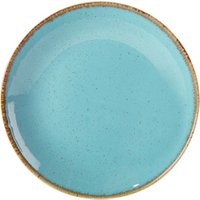 Seasons Sea Spray Coupe Plate 24cm (Case of 6) - Sea Gifts