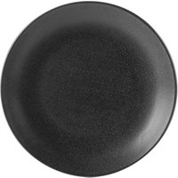 Seasons Graphite Coupe Plate 28cm (Case of 6)