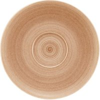 Modern Rustic Coupe Saucers Sand 12cm (Case of 12) - Sand Gifts