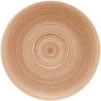 Modern Rustic Coupe Saucers Sand 19cm (Case of 9) - Sand Gifts