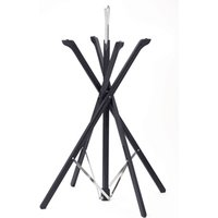 Folding Tray Stand Black Wooden Finish (Single) - Cooking Gifts