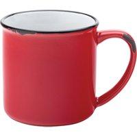Utopia Avebury Red Mug 10oz / 280ml (Single) - Mugs Gifts