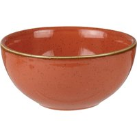 Churchill Stonecast Spiced Orange Soup Bowl 5andquot; / 13cm (Pack of 12)