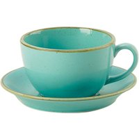 Seasons Sea Spray Saucer 6.25inch /16cm (Set of 6) - Sea Gifts