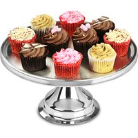 Stainless Steel Cake Stand (Case of 24)