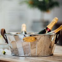 Heritage Leather Handled Champagne Bath (Set of 2) - Bath Gifts