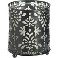 Bolsius StarLight Black Metal Candle Holders (Case of 8) - Candle Gifts
