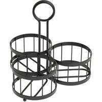 Meranda 3 Piece Mason Jar Cutlery Holder (Case of 8) - Cutlery Gifts