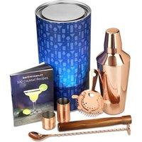 Copper Manhattan Cocktail Shaker Set