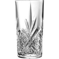 Broadway Crystal Cut Hiball Glasses 13.4oz / 380ml (Pack of 6)