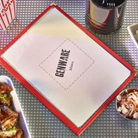 Click to view product details and reviews for 1 Page A4 Red American Style Menu Holder Set Of 25.