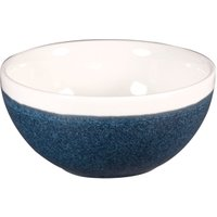 Churchill Monochrome Sapphire Blue Bowls 5inch / 13cm (Case of 12) - Bowls Gifts