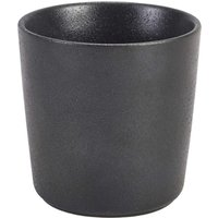 Genware Cast Iron Effect Chip Cup 10.5oz / 300ml (Set of 6) - Cup Gifts