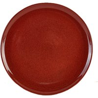 Terra Stoneware Rustic Red Pizza Plates 13.25inch / 33.5cm (Case of 6) - Takeaways Gifts