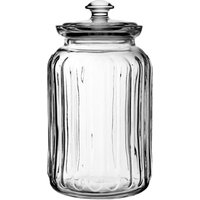 Viva Ribbed Storage Jar 48oz / 1.5ltr (Pack of 6) - Storage Gifts