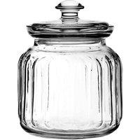 Viva Ribbed Storage Jar 31oz / 895ml (Pack of 6) - Storage Gifts