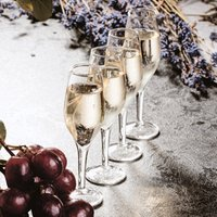 Click to view product details and reviews for Champagne Shot Glasses 12oz 35ml Set Of 4.