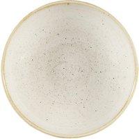 Churchill Stonecast Nutmeg Cream Coupe Large Bowl 12inch / 31cm (Case of 6)