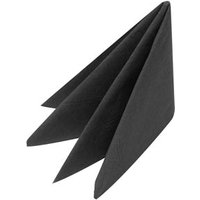 Swantex Black Napkins 40cm 2ply (Case of 2000)