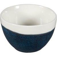 Churchill Monochrome Sapphire Blue Sugar Bowl 8oz / 227ml (Case of 12)