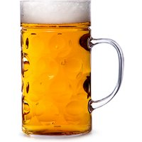 'Plastic Beer Stein 1 Pint / 580ml (single)