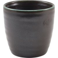 Terra Porcelain Chip Cups Black 11.25oz / 320ml (Set of 6) - Cups Gifts