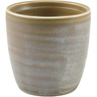 Terra Porcelain Chip Cups Matt Grey 11.25oz / 320ml (Set of 6) - Cups Gifts