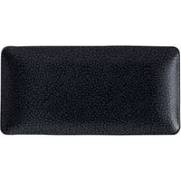 Purity Pearls Dark Rectangular Plates 7inch / 18cm (Case of 12) - Pearls Gifts