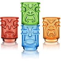 Final Touch Coloured Tiki Shot Glasses 2.1oz / 60ml (Case of 36) - Shot Glasses Gifts
