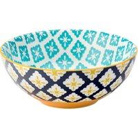 Cadiz Blue & Yellow Bowl 6.3inch / 16cm (Case of 6) - Bowl Gifts