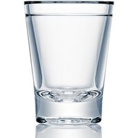 Strahl Barware Polycarbonate Shot Glass 1.25oz / 35ml (Case of 12) - Shot Glass Gifts