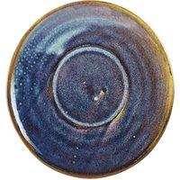 Terra Porcelain Saucer Aqua Blue 5.7inch / 14.5cm (Case of 24) - Drinkstuff Gifts